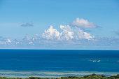 View to the sea of Ishigaki island, Okinawa