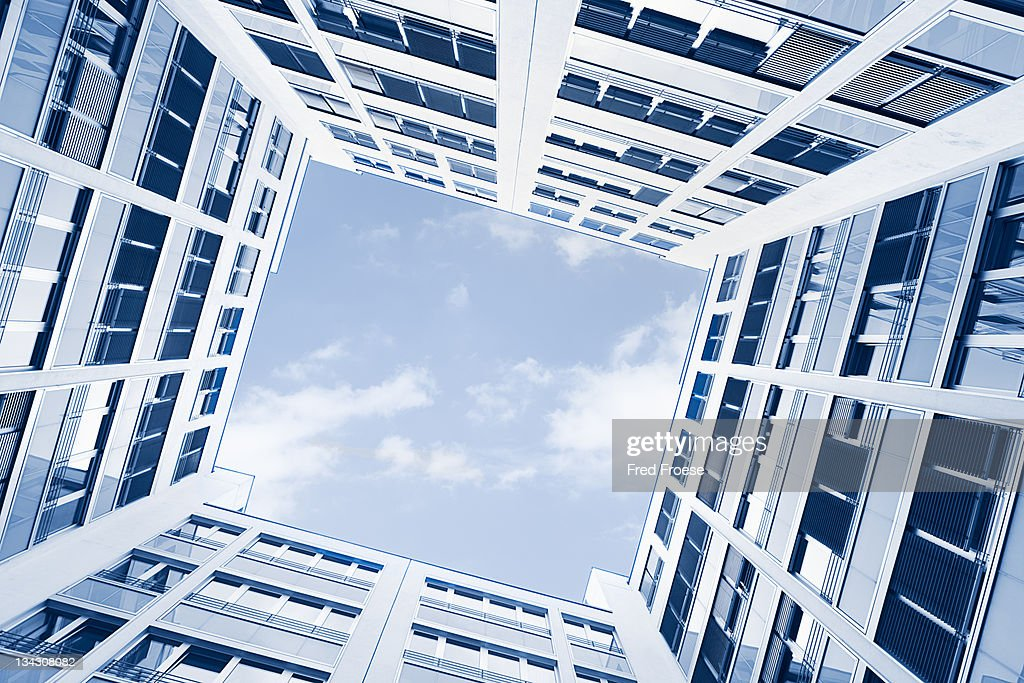 View to the sky : Stock Photo