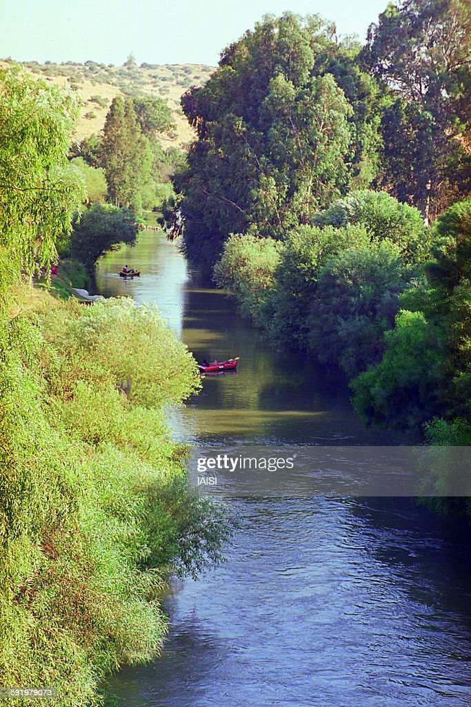 A view to the upper Jordan river