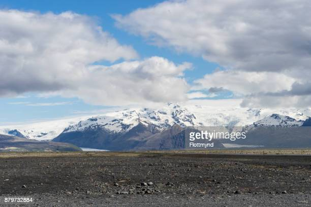 View towards the Oraefajokull volcano