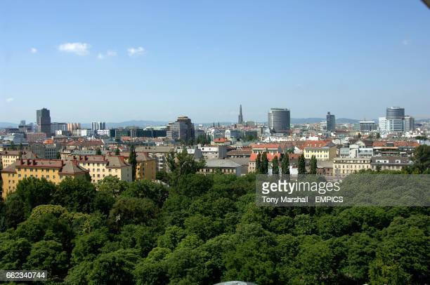 A view towards Vienna's Innere Stadt
