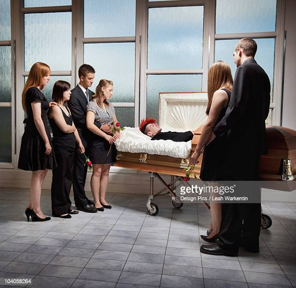 Viewing A Deceased Loved One In A Coffin