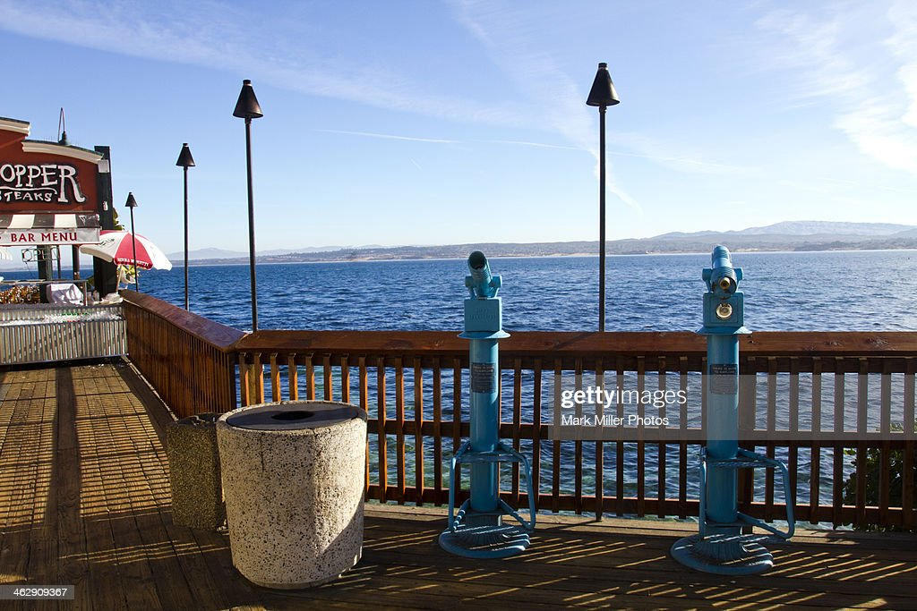 Viewing Deck from Monterey California USA
