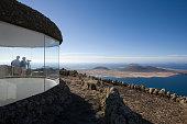 Viewpoint, Mirador del Rio, Isla Graciosa, Lanzarote, Canary Islands, Tenerife, Spain