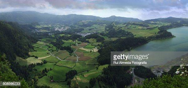 Viewpoint of Pico do Ferro : Foto de stock