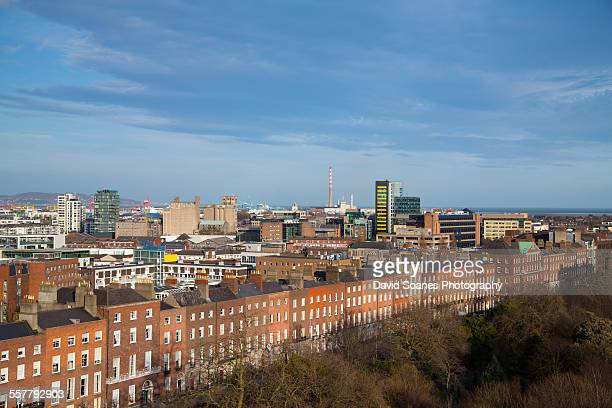 Viewpoint Over Merrion Square, Dublin