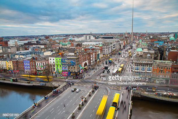 Viewpoint Over O'Connell Street, Dublin