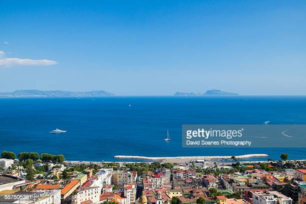 Viewpoint Over the Bay of Naples, Italy