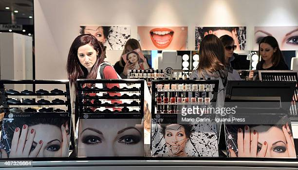 Views from the Cosmoprof Opening Day on March 20 2015 in Bologna Italy