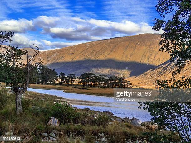 Views of Glen Etive, Scottish Highlands