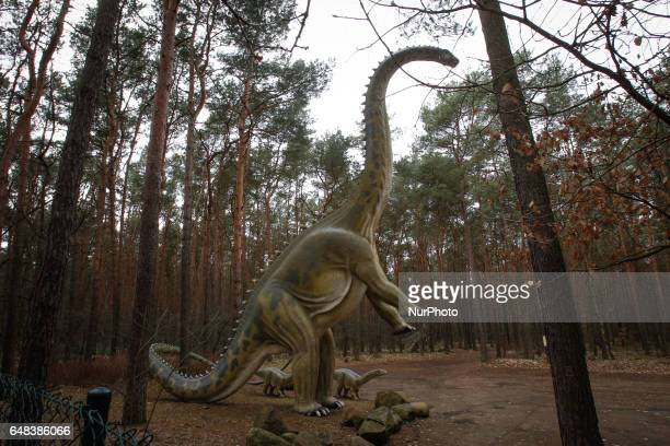 Views of Myslecinek recreational park are seen on 5 March 2017 Myslecinek is the largest city park in Poland covering some 830 hectares with...