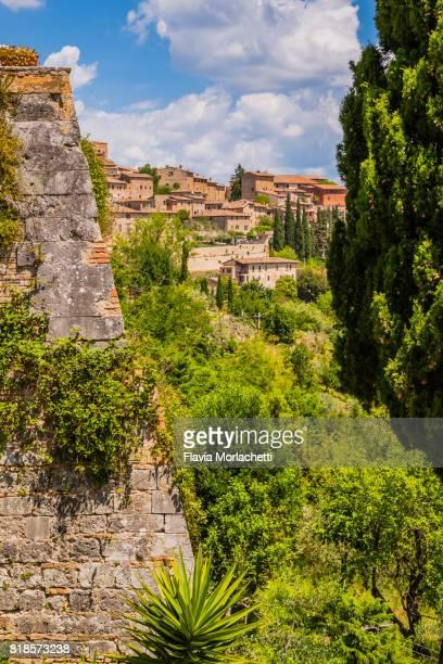Views of San Gimignano city, Tuscany