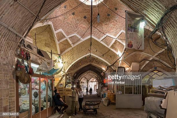 Views of Tehran Grand Bazaar, Iran