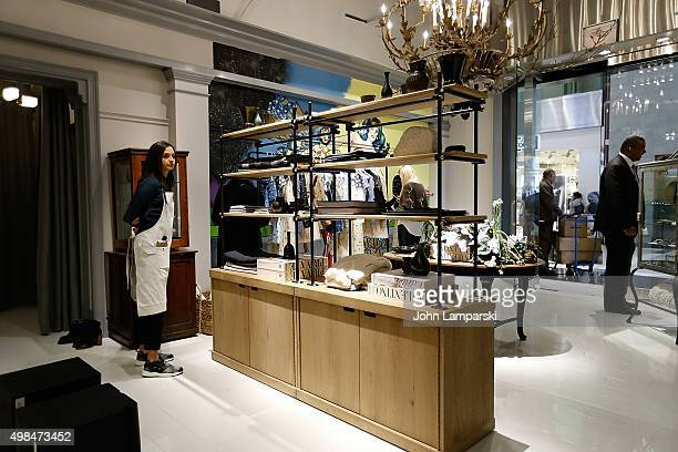 Views of the Goop Market PopUp store opening at Time Warner Center on November 23 2015 in New York City