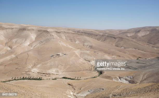 Views of the Hyrcania Valley in the Palestinian Judean Desert