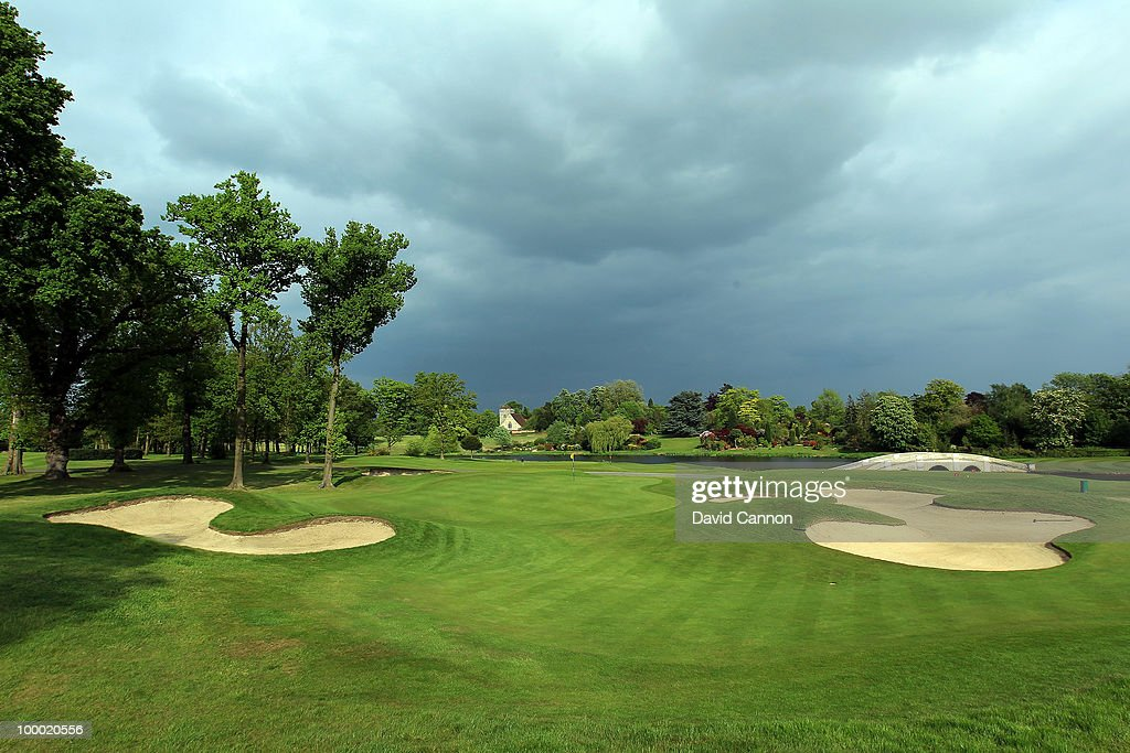 Views of the one of the courses during the launch of the Jon Yarwood Golf Academy at Stoke Park, on May 19, 2010, in Slough, England.