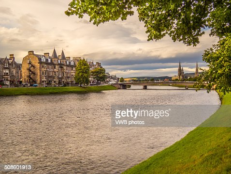 Views of the River Ness : Stock Photo
