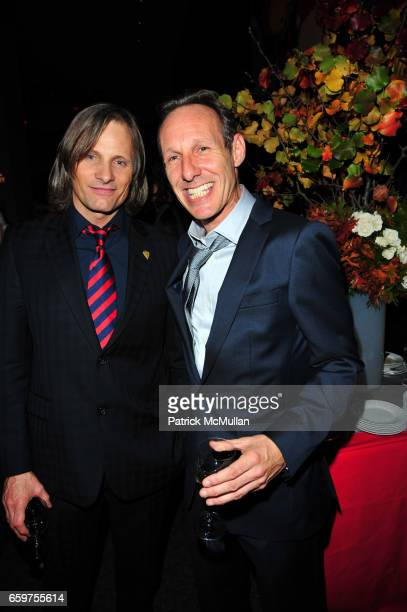 Viggo Mortensen and David Baerwald attend HISTORY hosts preview of THE PEOPLE SPEAK at Jazz at Lincon Center Rose theater NYC on November 19 2009