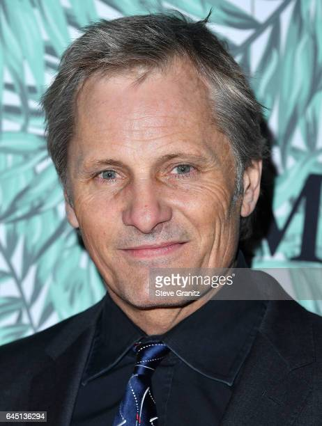 Viggo Mortensen arrives at the 10th Annual Women In Film PreOscar Cocktail Party at Nightingale Plaza on February 24 2017 in Los Angeles California