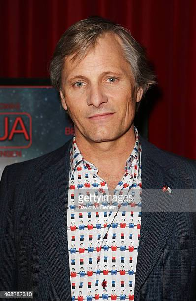 Viggo Mortensen attends a screening and QA for 'Juajo' at the Curzon Soho on April 1 2015 in London England