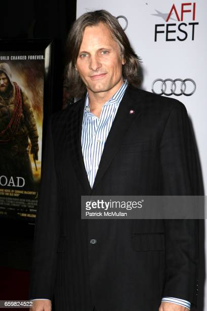 Viggo Mortensen attends AFI Fest 2009 'The Road' 'Bad Lieutenant Port of Call New Orleans' Gala Screenings at Grauman's Mann Chinese Theatre on...
