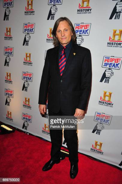 Viggo Mortensen attends HISTORY hosts preview of THE PEOPLE SPEAK at Jazz at Lincon Center Rose theater NYC on November 19 2009