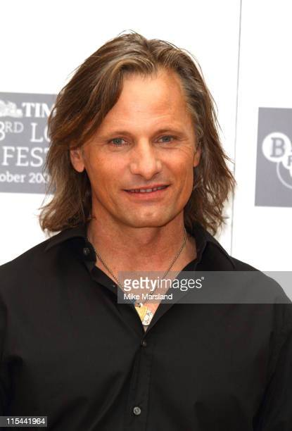 Viggo Mortensen attends photocall for 'The Road' during The Times BFI London Film Festival at May Fair Hotel on October 16 2009 in London England