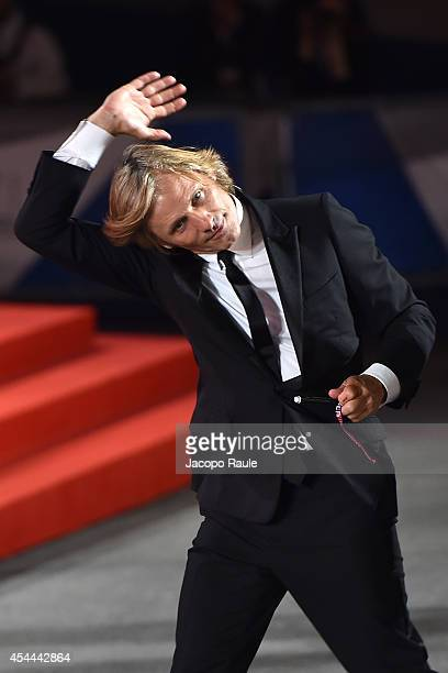 Viggo Mortensen attends the 'Loin Des Hommes' premiere during the 71st Venice Film Festival on August 31 2014 in Venice Italy
