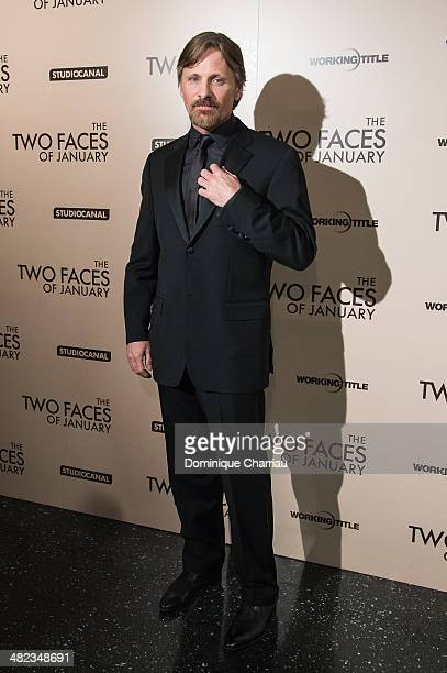 Viggo Mortensen attends the 'The Two Faces Of January' Paris Premiere At Cinema Max Linder Panorama on April 3 2014 in Paris France