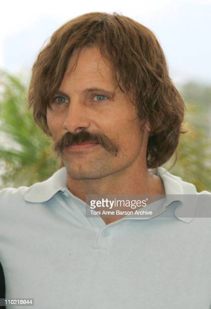 Viggo Mortensen during 2005 Cannes Film Festival 'A History of Violence' Photocall at Palais Du Festival in Cannes France