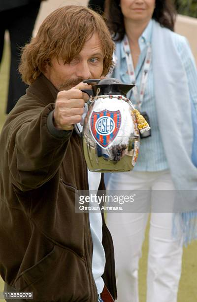 Viggo Mortensen during 2005 Cannes Film Festival 'History of Violence' Photocall in Cannes France