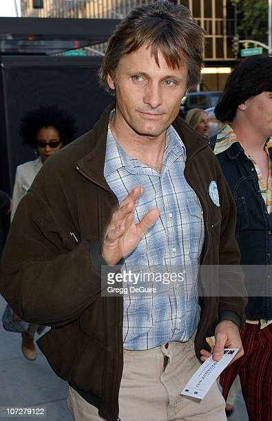 Viggo Mortensen during 'Fahrenheit 9/11' Special Screening's at AMPAS and Music Hall Theatre Arrivals at Academy Theatre and Music Hall Theatre in...