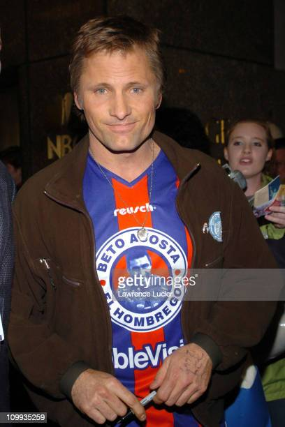 Viggo Mortensen during Viggo Mortensen appears on Last Call with Carson Daly at NBC Studios in New York City New York United States