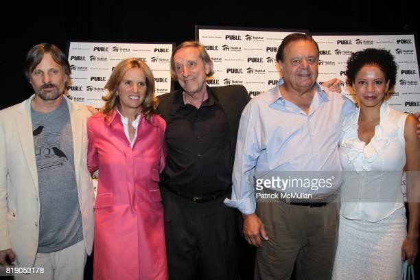Viggo Mortensen Kerry Kennedy Ariel Dorfman Paul Sorvino and Gloria Reuben attend THE PUBLIC THEATRE Presents a OneNightOnly Benefit Reading of SPEAK...