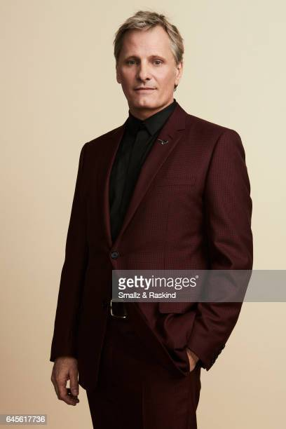 Viggo Mortensen poses for a portrait session at the 2017 Film Independent Spirit Awards on February 25 2017 in Santa Monica Califor ania