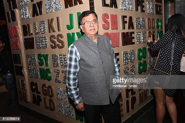 Vijay Kr Arora during a launch of a new lounge and bistro titled Niche by restaurateur Tarun Arora and fashion designer Siddhartha Tytler on February...