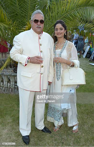 Vijay Mallya attends the Quintessentially Foundation and Elephant Family's Royal Rickshaw Auction presented by Selfridges at Lancaster House on June...