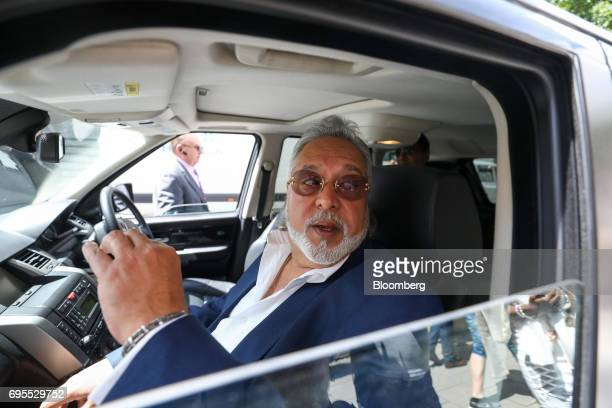 Vijay Mallya founder and chairman of Kingfisher Airlines Ltd leaves Westminster Magistrates' Court in London UK on Tuesday June 13 2017 Mallya...