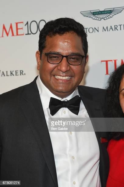 Vijay Shekhar Sharma attends the 2017 Time 100 Gala at Jazz at Lincoln Center on April 25 2017 in New York City
