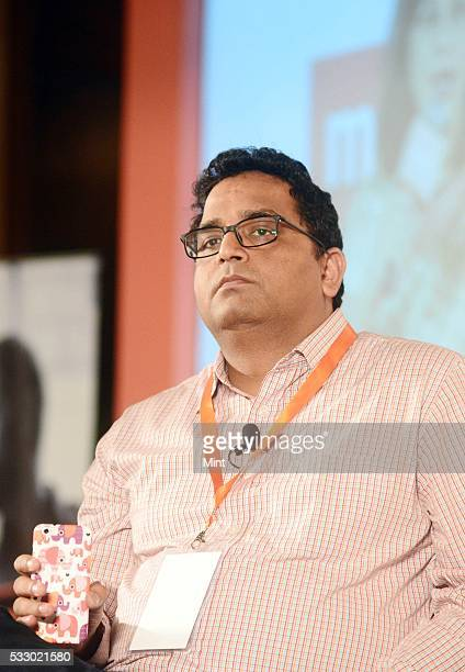 Vijay Shekhar Sharma Founder and Chief Executive Officer Paytm at Mint Cash to Digital Summit on November 6 2015 in New Delhi India