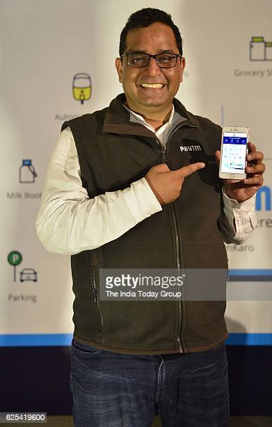 Vijay Shekhar Sharma Founder CEO Paytm launch first 'APP POS' allowing all small medium merchants to accept all card payments including RupayVisa...