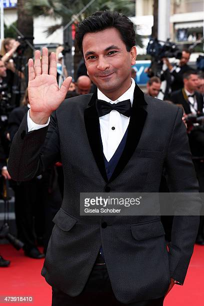 Vikas Khanna attends the Premiere of 'Irrational Man' during the 68th annual Cannes Film Festival on May 15 2015 in Cannes France