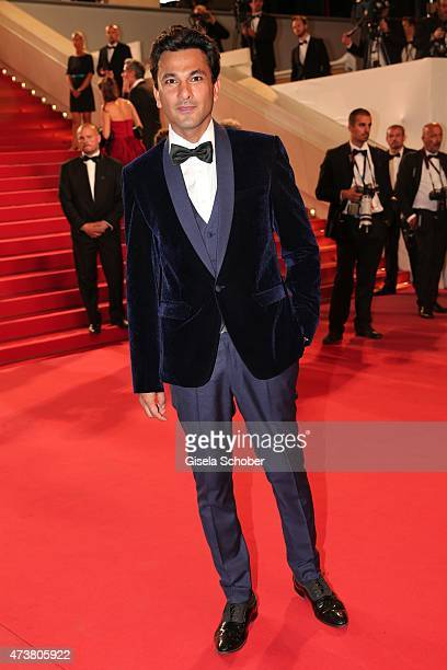 Vikas Khanna attends the Premiere of 'Mon Roi' during the 68th annual Cannes Film Festival on May 17 2015 in Cannes France