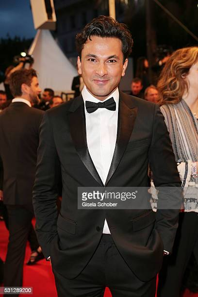 Vikas Khanna attends the 'Slack Bay ' premiere during the 69th annual Cannes Film Festival at the Palais des Festivals on May 13 2016 in Cannes France