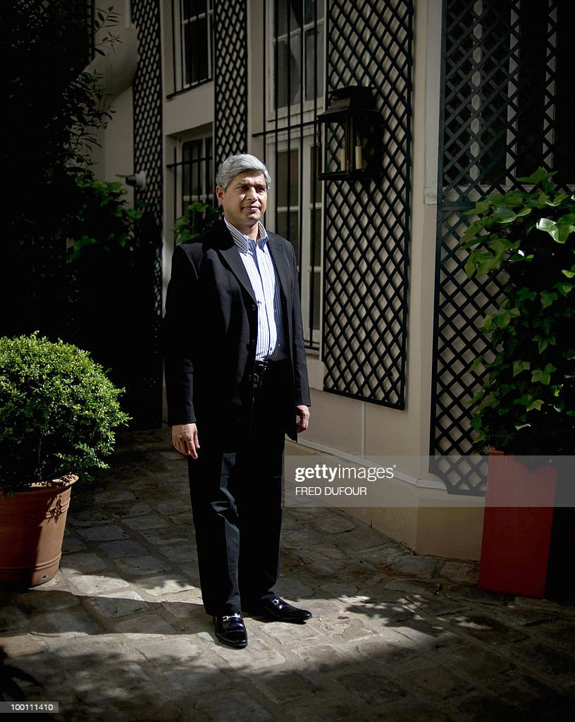 Vikas Swarup, Indian diplomat and author of the first novel 'Q&A', successfully adapted for the screen as 'Slumdog Millionaire' poses on May 21, 2010 at his hotel in Paris. Swarup's latest book 'The sixth suspect' (Meurtre dans un jardin indien) was released in France on May 6, 2010.