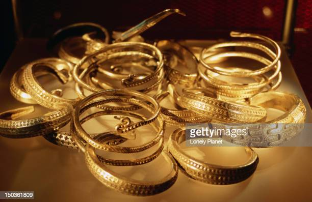 Viking bangles at Historiska Museet.