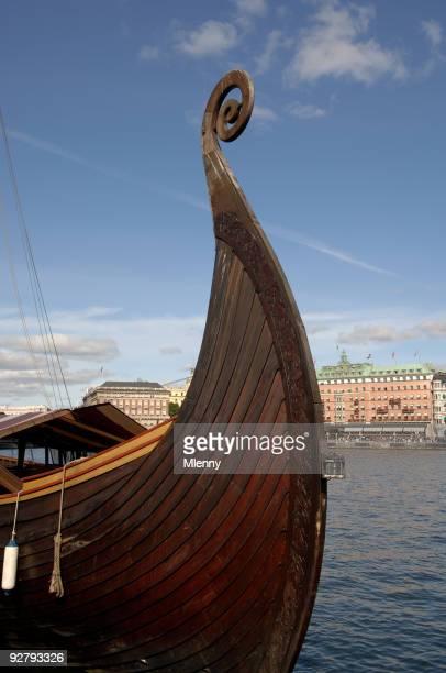 Viking Boat Stockholm Sweden