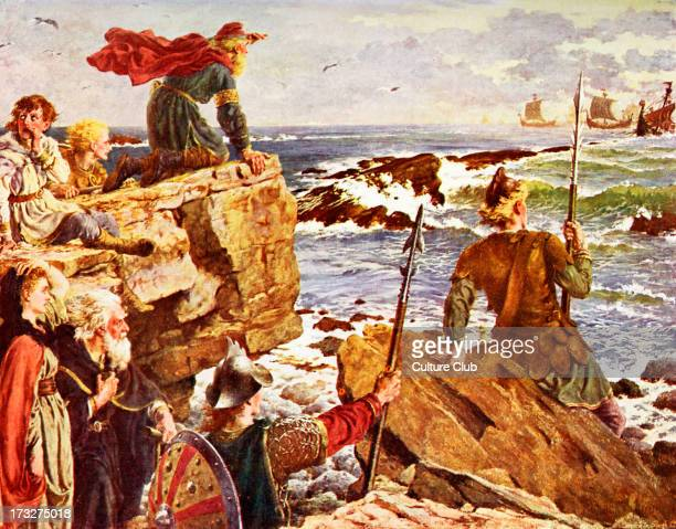 the viking invasion of england How the devastating viking attack on the church of st cuthbert in 793 sent a   island of lindisfarne, just off the northumbrian coast, was not the first in england.