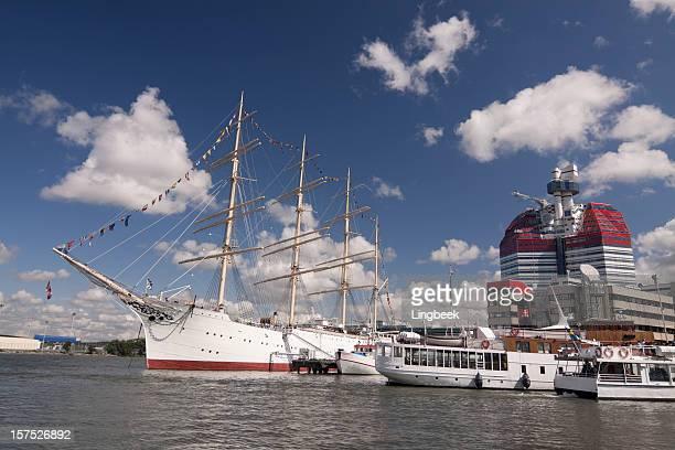 Viking Segeln Schiff, in Göteborg