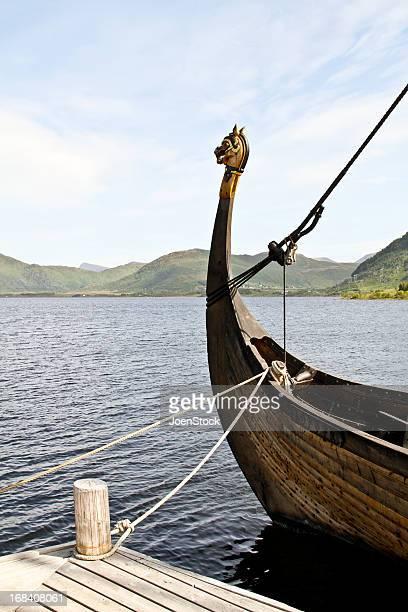 Viking ship at the dock